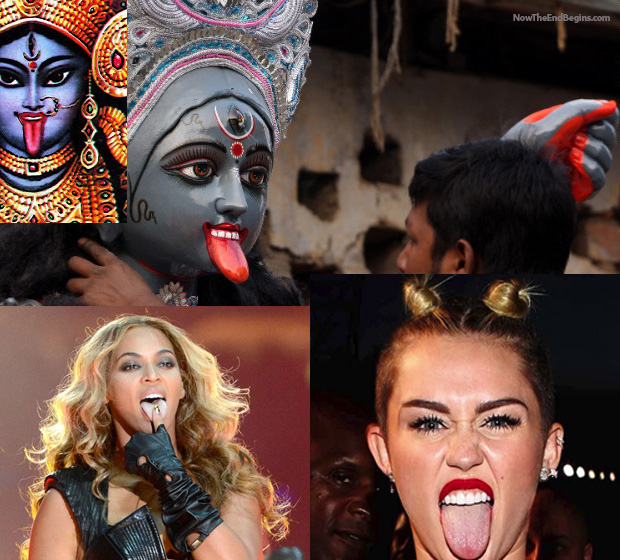 Miley Cyrus And Beyonce Recruiting Teenagers For Satan Worship