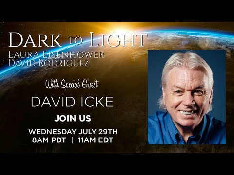 David Icke & Laura Eisenhower Dark To Light Interview 2020