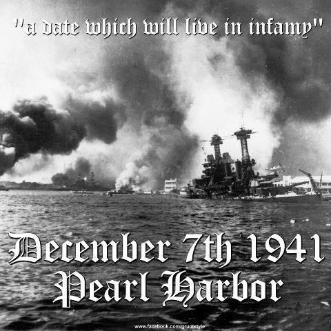 """a history of the attack on pearl harbor on the 7th of december 1941 The attack by the japanese on pearl harbor, hawaii, took place on december 7th 1941 the attack on pearl harbor was called a """"day of infamy"""" by president fd roosevelt  it was to bring the united states of america into world war two ."""
