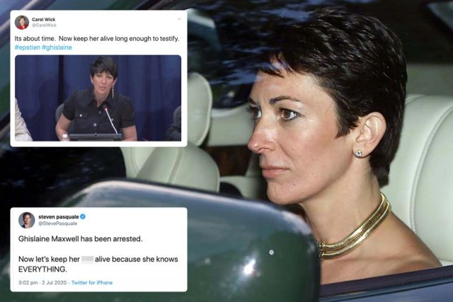 Ghislaine Maxwell Commits Suicide Next Week?