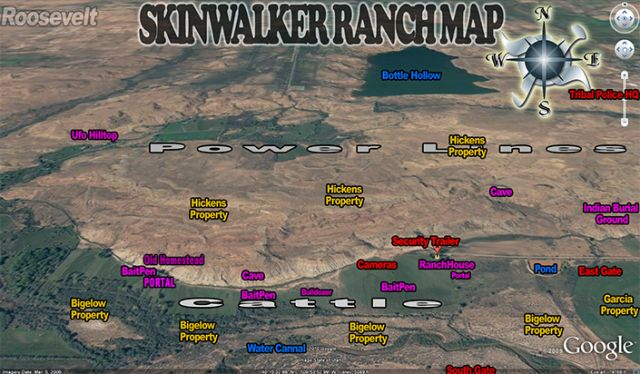 A Drive Around Skinwalker Ranch the Scariest Place on ...