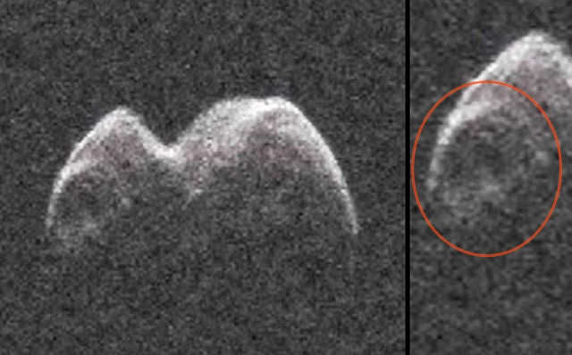 3,280 Feet Wide Peanut-Shaped Asteroid Caught On Radar As It Zooms By Earth (Video)