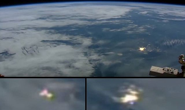 Mysterious Flashes Of Light Above Earth Captured By NASA Satellite - Live satellite video