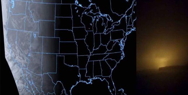 Сдвиг магнитного поля Земли: что-то странное и загадочное происходит по всей планете Glow%20flash%20sky%20magnetic%20field%20pole%20shift%20(1)
