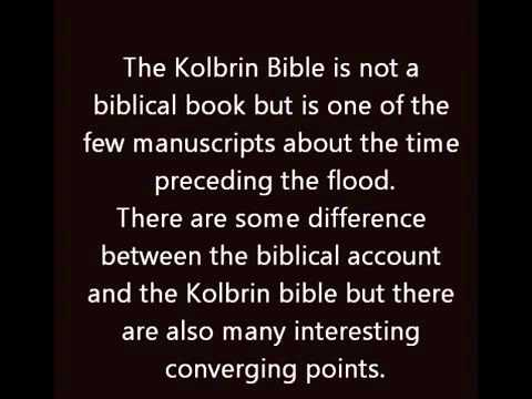 The Kolbrin Bible...The Most Mysterious Book Ever Written