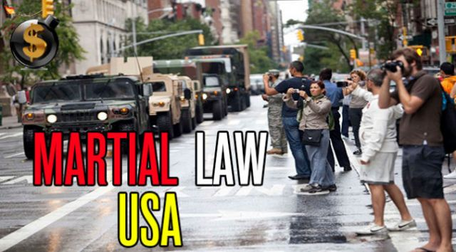 Martial Law 2019: How They Will Do It - Preparing for the End