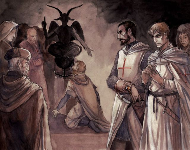 Image result for knights templar baphomet