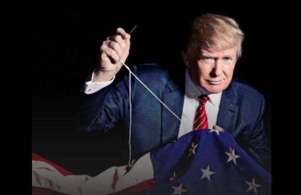 """PART 2 - CONTINUED: America Warned Is Unprepared For Q & Trump's Cataclysmic Destruction Of """"Deep State"""" - Page 3 Trump-flag"""