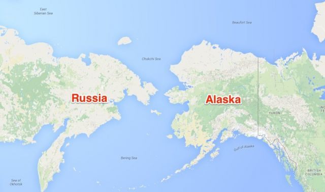 Russia Issues Ominous US Nuclear Holocaust Threat War And Conflict - Us and russia map
