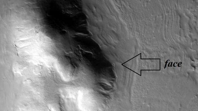 Face on Mars: Matteo Ianneo Italian Researcher