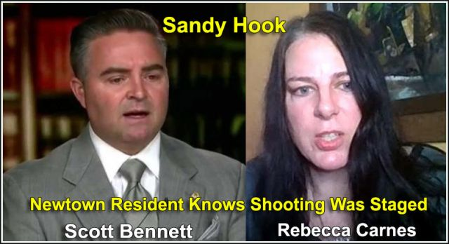 Sandy Hook : Rebecca Carnes Interview With Scott Bennett