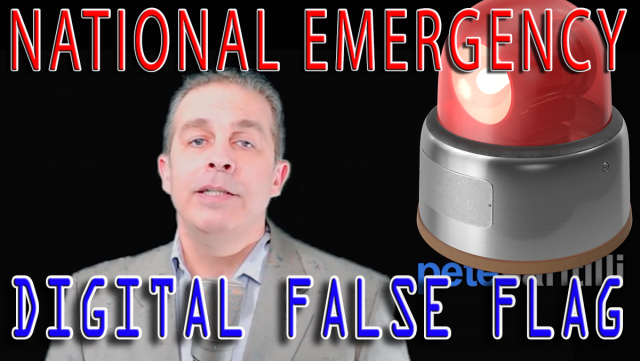Digital False Flag - The National Emergency 100x's Bigger Than the Border