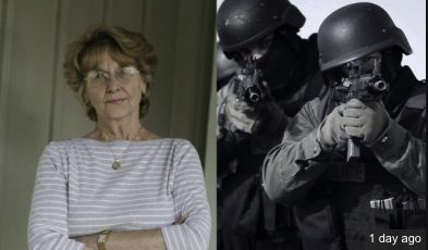 Video: NASA Swat Team Raids 75 Year Old Grandma For Trying To Sell Dead Husbands Moon Rock.
