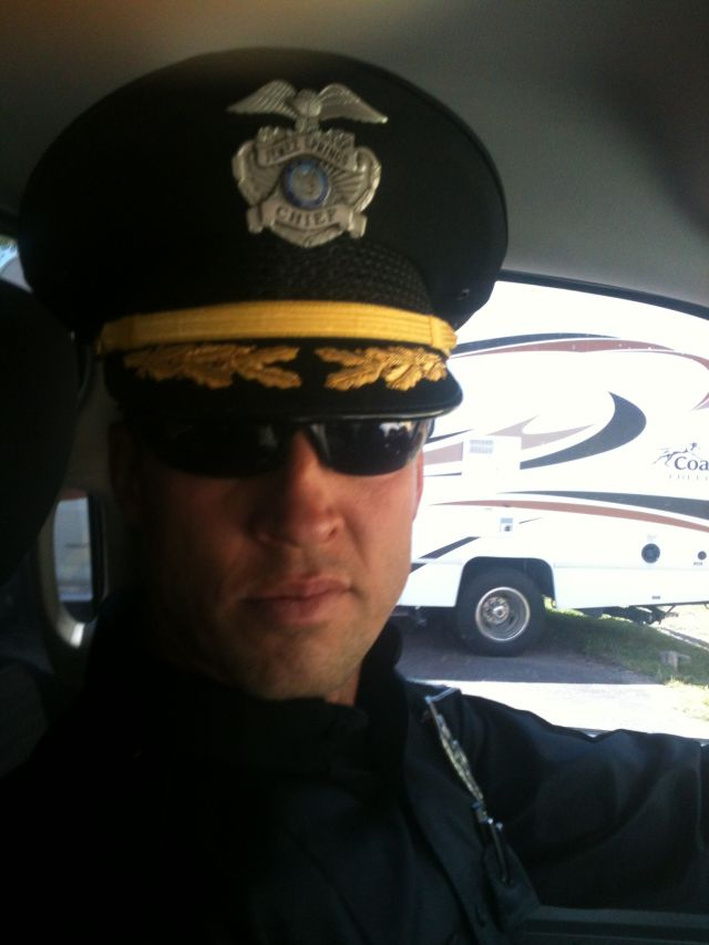 Police chief Shane Harger