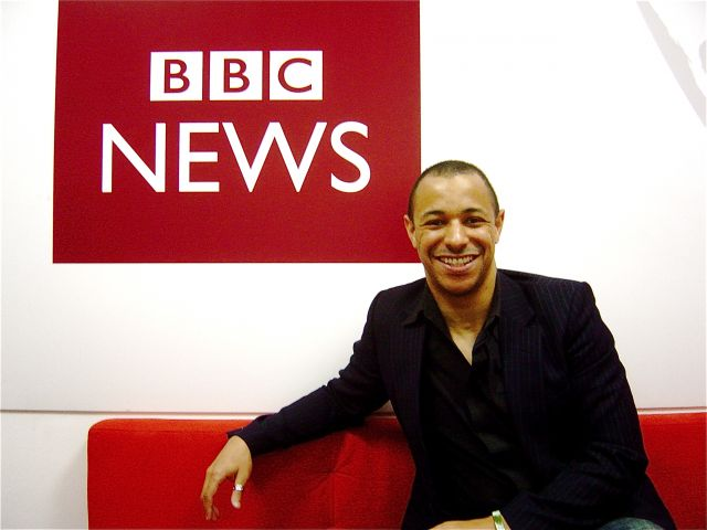 Ben Fellows guest on BBC News 24