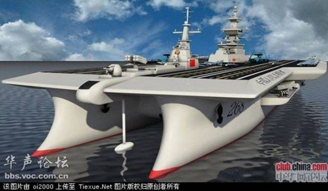 New Chinese Aircraft Carriers Quantum Leaps Ahead Of US amp We Can Thank WalMart And