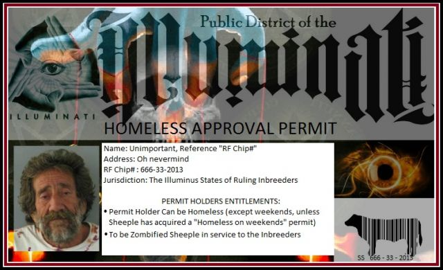 Illuminus States of Union Homless Permit