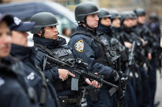 Taken From the Israeli Playbook—-NYPD Deploys Commando Equipped Police at Indoor and Outdoor Venues