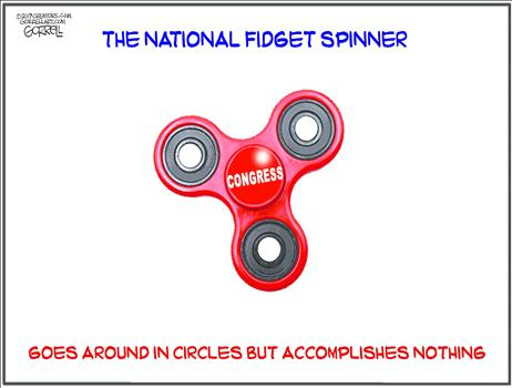 The National Fidget Spinner