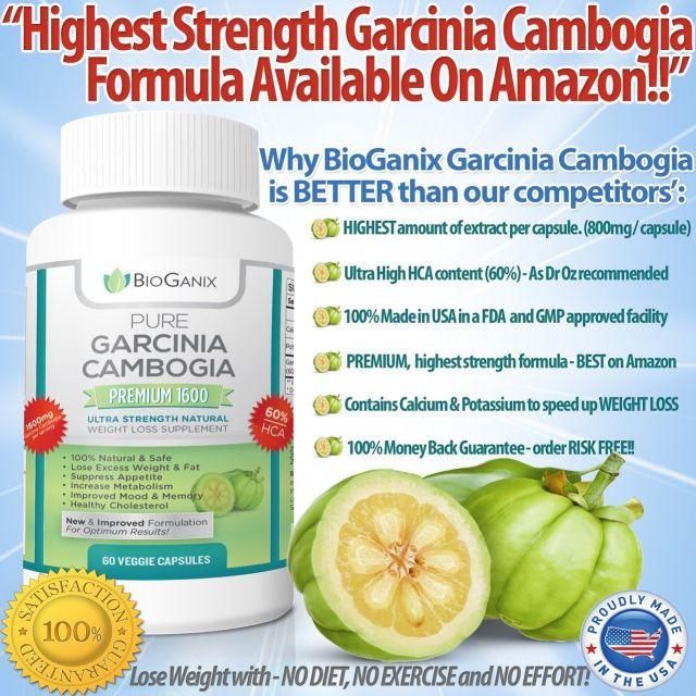 The Diet Pills of Garcinia Cambogia