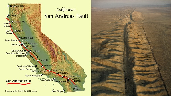 san andreas fault research paper The shake out scenario: a hypothetical m78 earthquake on the southern san andreas fault non-published research reports paper 79.
