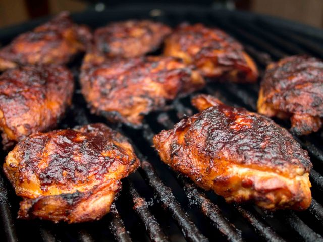 The Best Damn Barbecue Chicken Thighs In The World Are Here | Cooking ...