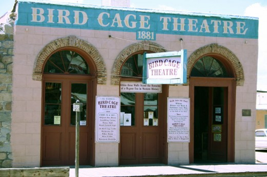 The Birdcage Theater In Tombstone Arizona