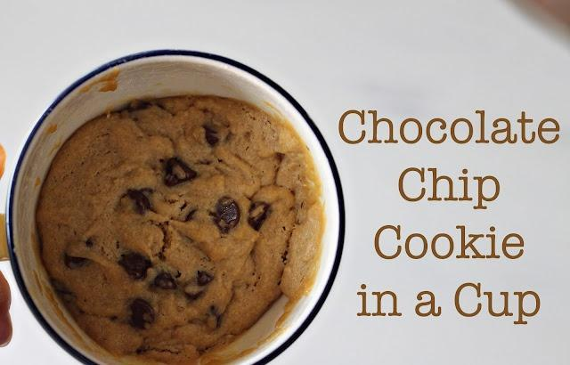 Cookies Cooked In A Coffee Cup Or Mug In Microwave