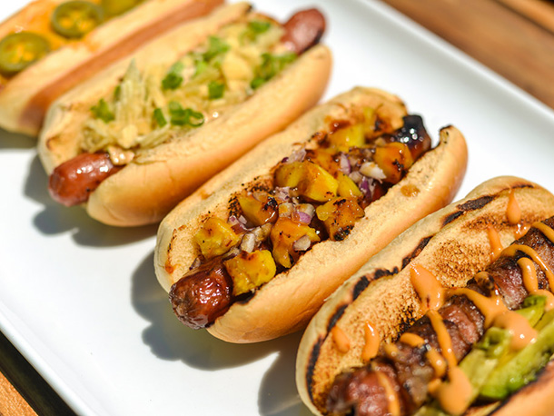 Barbecue Hot Dog Toppings