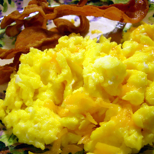 Cheesy Egg Scramble   Cooking and Recipes