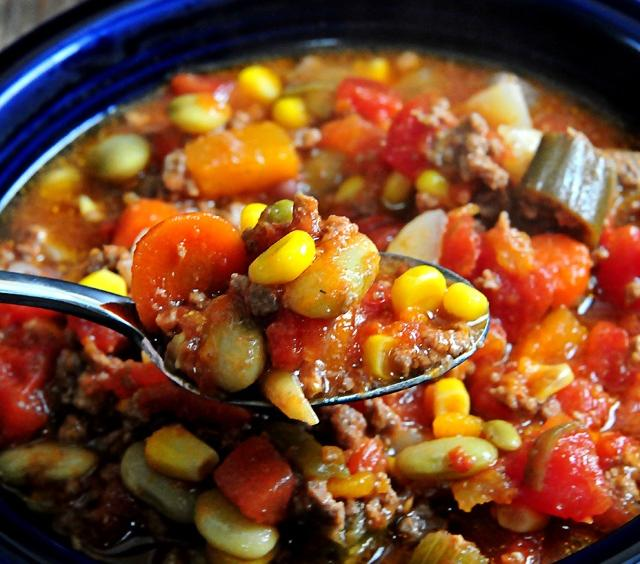 Slow Cooker Vegetable Beef Soup | Cooking and Recipes