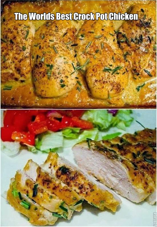 The world s best crock pot chicken recipe cooking and recipes