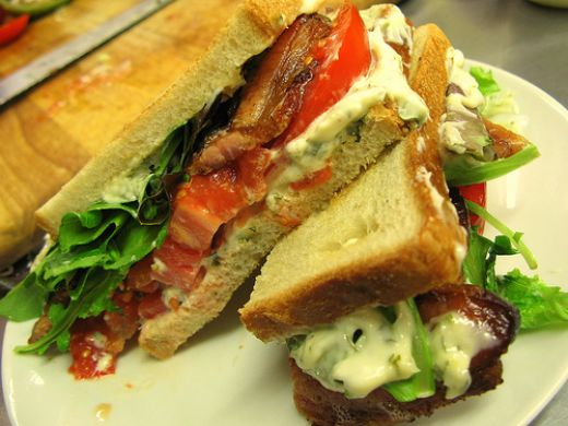 blt sandwich well here we have the ultimate blt sandwich for you and ...