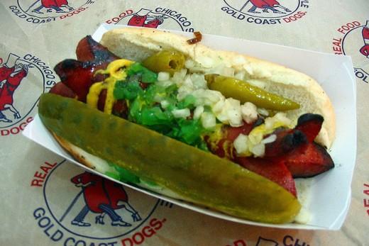 Authentic Chicago Style Hot Dog Recipe