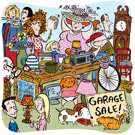 Funny As Hell Yard Sale Photos And Cartoons Food Farming
