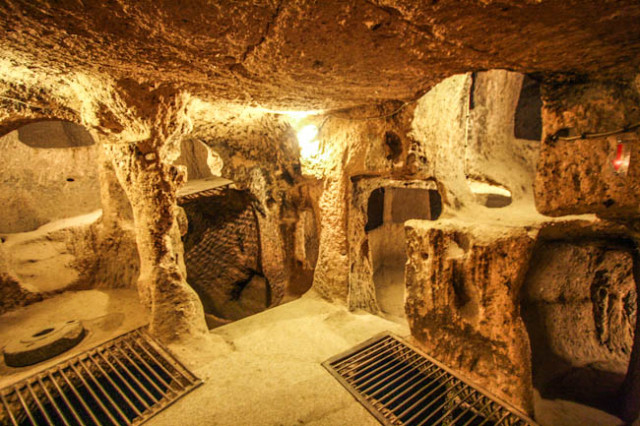 Massive Underground City Discovered Beneath House-Could ...