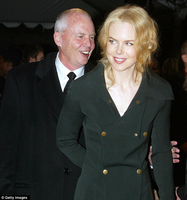 Nicole Kidman's father and clinical psychologist Antony David Kidman named as Fiona Barnett's global elite perpetrator.