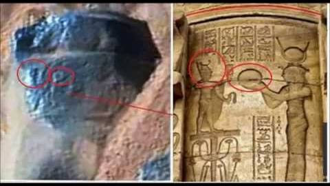 Egyptian Hieroglyphs Found On Mars And Is Mars Exploding
