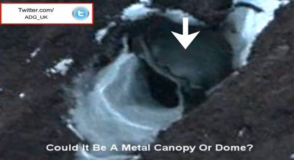 Alien Base And Flying Saucer Found In Antarctica