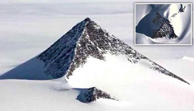 Could This Mysterious Pyramid Discovered in Antarctica Rewrite History?  (Videos)