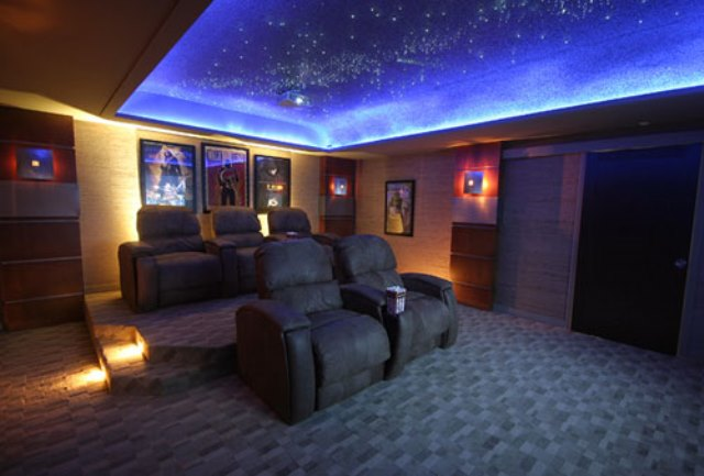 Led Ceiling Lights Home Theatre : Exclusive look inside the world s largest planned doomsday
