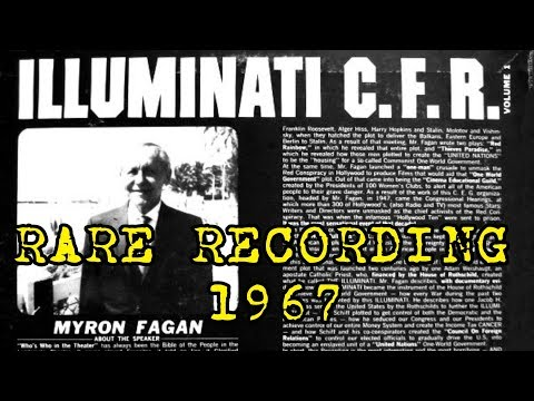 This 1967 Speech Exposes All About Illuminati, Zionism, Masonry, Skull and Bones and The CFR (Videos)