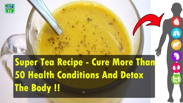 This Remarkable Oriental Tea Can Cure More Than 50 Health Conditions and Detox The Body  (Video)