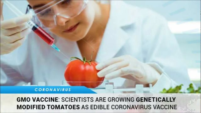 """Edible Vaccine""? Pharming: Food That Changes You  (Video)"
