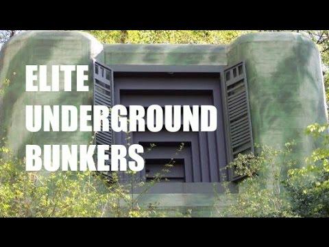 how to build an underground bunker in secret