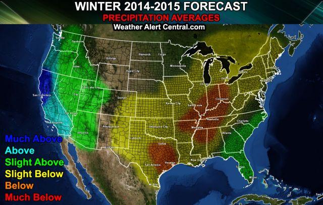 Winter Weather Forecast 2014 2015