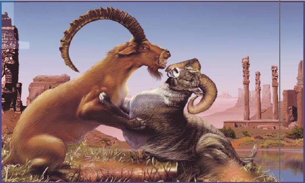 I AM COMING SOON! : Daniel's Vision Of A Ram And A Goat
