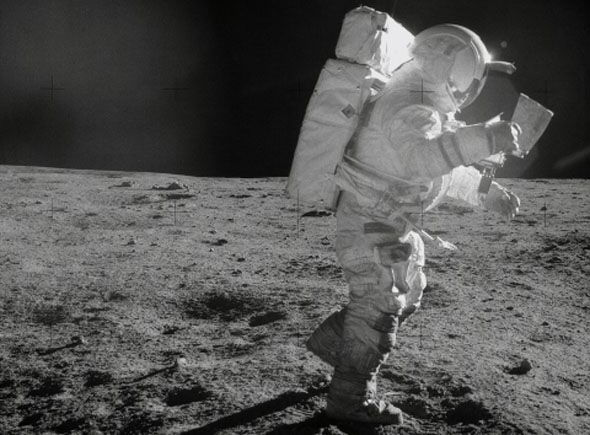 NASA astronaut who walked on Moon says UFO crashed in ...