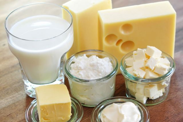 Anti aging foods- dairy products