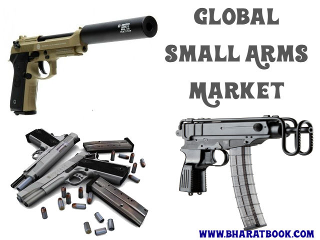 global small arms market It provides information about the leading competitors in the global small arms market apart from a general overview of these companies,.